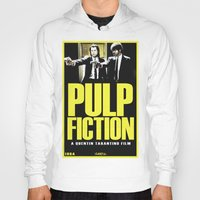 pulp fiction Hoodies featuring PULP FICTION by Rikartdo