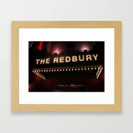 The Redbury Hotel Framed Art Print