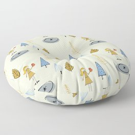 Prince Frog Pearl Floor Pillow