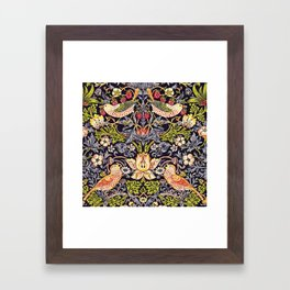 William Morris Strawberry Thief Art Nouveau Painting Framed Art Print