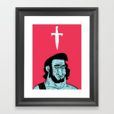 Dreamy Barbarian Framed Art Print