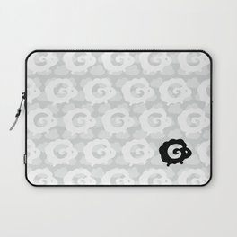 Black Sheep Pattern Laptop Sleeve