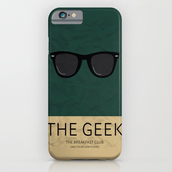 """The Geek"" The Breakfast Club   iPhone & iPod Case"