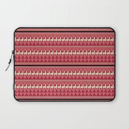Andean Fabric Pattern With Lamas Laptop Sleeve