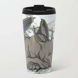 Grey Dragon Travel Mug