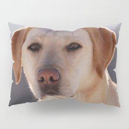 Portrait of A Golden Labrador Retriever Pillow Sham