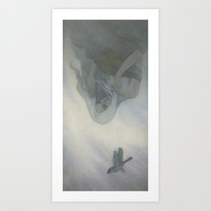 The East Wind Came Art Print