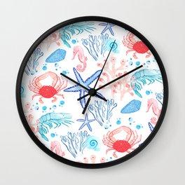 Marine Life 2 Wall Clock