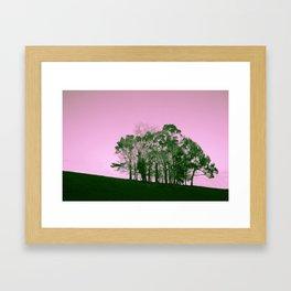 Hilhouette Framed Art Print