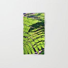 Green Fern in Sunny Dreams Hand & Bath Towel