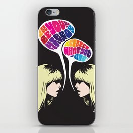 Nico: I'll Be Your Mirror iPhone Skin