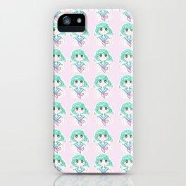 kawaii girl iPhone Case