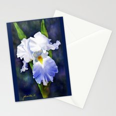 Susan's Blue Iris Stationery Cards
