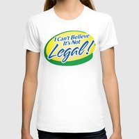cannabis T-shirts featuring Legalize Cannabis by WeedPornDaily
