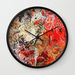 Blazing Fall Wall Clock