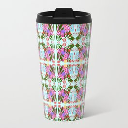 zakiaz fish abstract Travel Mug