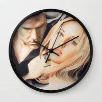 buffy Wall Clocks featuring Buffy - The Vampire Slayer by ChiaraG27