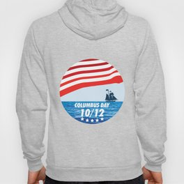 The Expedition to the End of the World - Happy Columbus Day Hoody