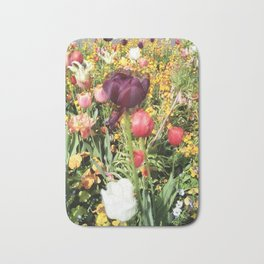 Flower Schadows Bath Mat