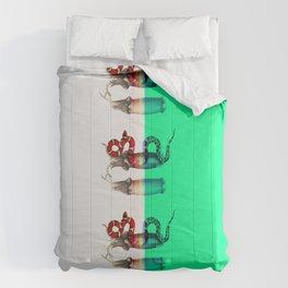 female, diagonally Comforters