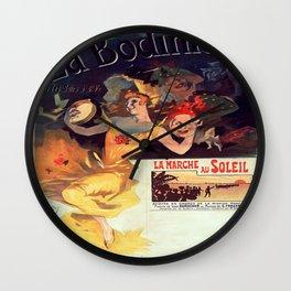 Vintage poster - La Bodiniere Wall Clock