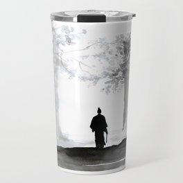 samurai back home Travel Mug