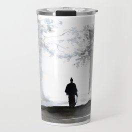 samurai back home Travel Mug