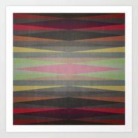 rug Art Prints featuring Rug by SensualPatterns