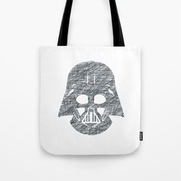 Lines of Vader Tote Bag