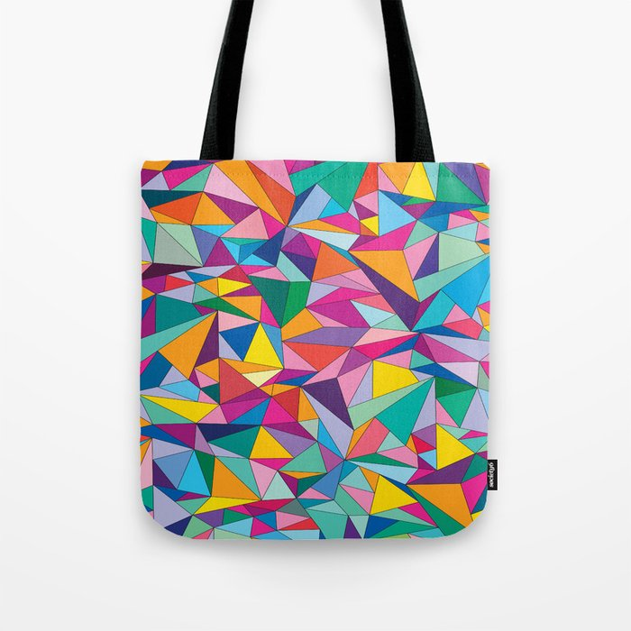 Triangles in color Tote Bag