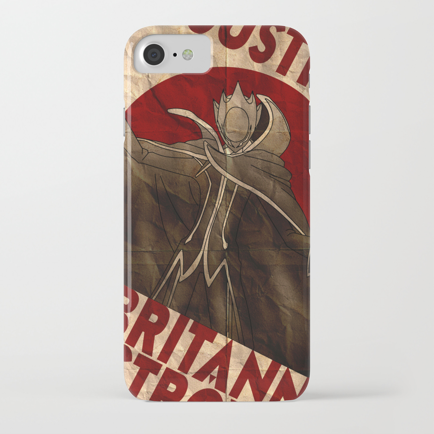 timeless design 4161b cba50 Code Geass | Zero | Justice will prevail iPhone Case by quietduna ...