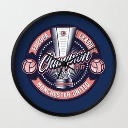 UEL Champion 2016-2017 Manchester United Wall Clock