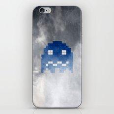 Pac-Man Blue Ghost iPhone & iPod Skin