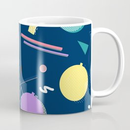 80s Xmas #society6 #retro #xmas Coffee Mug