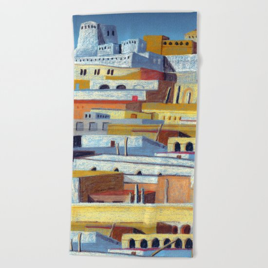 the fortress Beach Towel