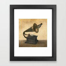 Vintage Songbird Framed Art Print