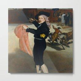 "Édouard Manet ""Mlle Victorine Meurent in the Costume of an Espada"" Metal Print"