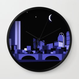 CHARLES RIVERVIEW III Wall Clock