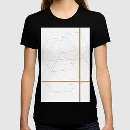 Geometric Shapes Art Print T-shirt