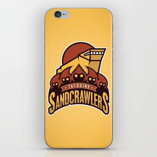 Tatooine SandCrawlers - Gold iPhone & iPod Skin