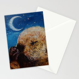 Sea Otter Pup Stationery Cards