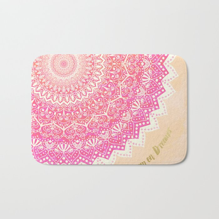 FAIRY MANDALA Bath Mat