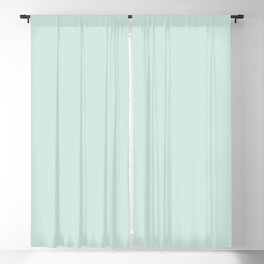 Pratt and Lambert 2019 Aloe Green 24-30 Solid Color Blackout Curtain