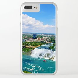 Bird's View Clear iPhone Case