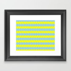 Van Zanen Yellow & Blue Framed Art Print