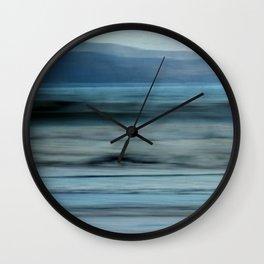 Sea Breezes Wall Clock