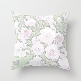 Classic Rose Garden Collection - Stanley Park, Vancouver Throw Pillow