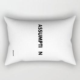Assumption Rectangular Pillow