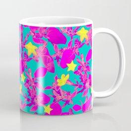 Star Cactus in Neon Pink Coffee Mug