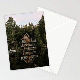 Lakeside Cabin Stationery Cards